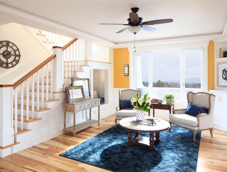 Sunny family room